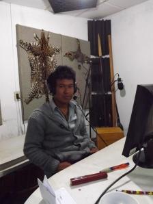 Marcelo recording