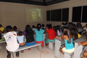 "Cofan ""Jesus"" movie showing in Dovuno"