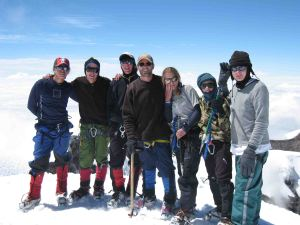 Bormans on Cotopaxi in 2006