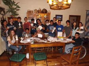 Homeschool Teen Fellowship Sept. 18 - Paper Night!